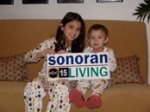Kylee and Jack on Sonoran Living Live