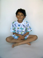 Anthony in Skivvydoodles Sea Life Short Pajamas