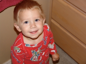 Jack in At Home Pajamas 18 Months