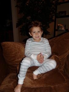 Baby Steps Pinstripe Pajamas