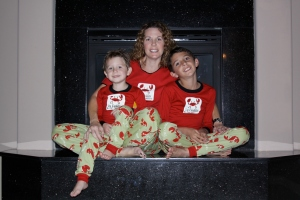 "LazyOne Matchine Family Pajamas ""I'm Crabby in the Morning"""