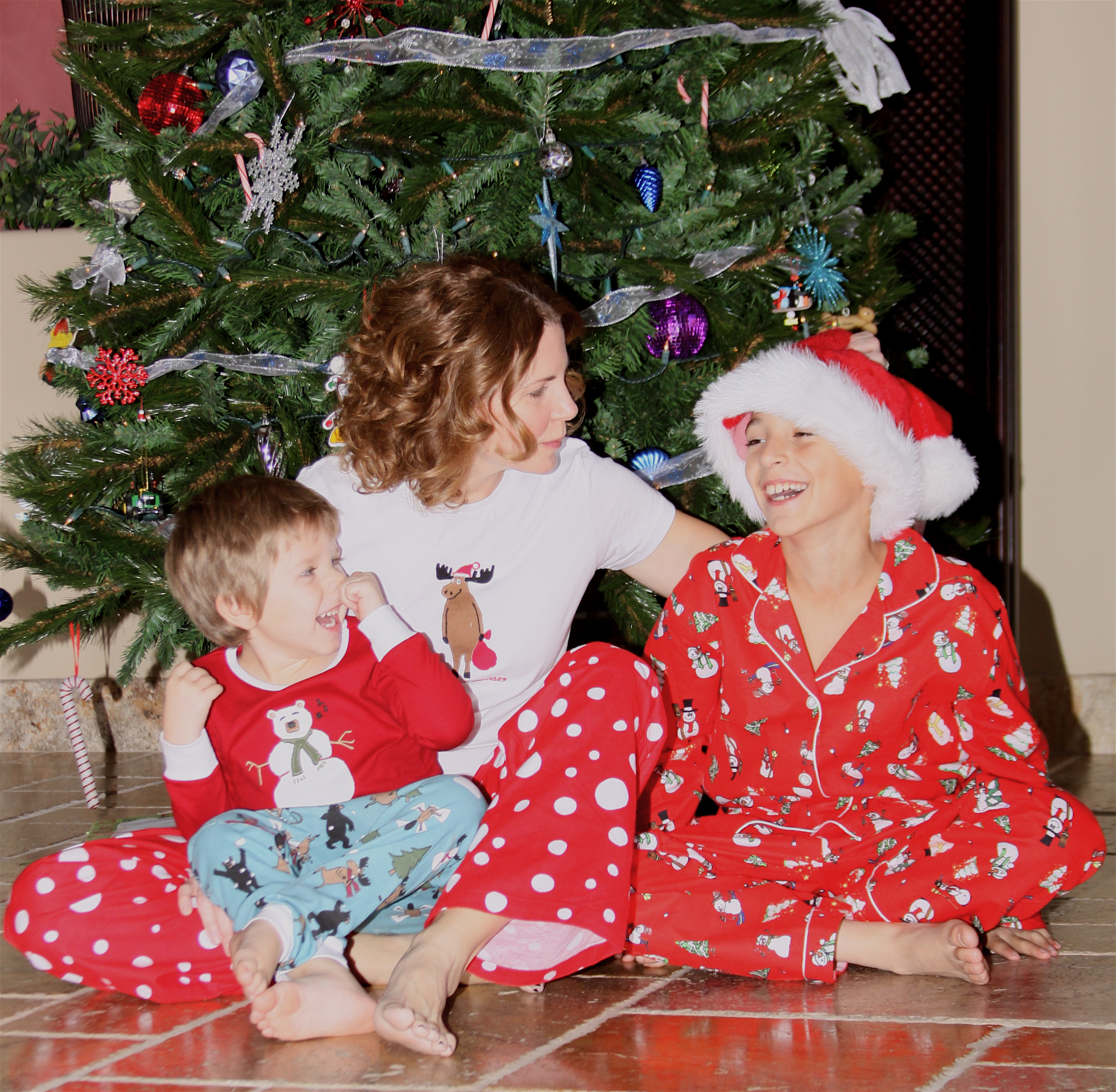 kids christmas pajamas |