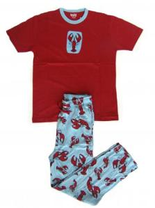 Lazyone Lobster Pajamas for Adults Unisex