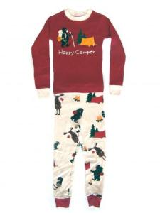 Lazyone Happy Camper Kids Pajamas