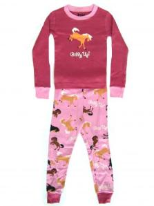 Lazyone Giddy Up Girls Pajamas
