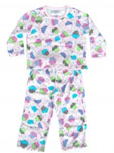 Skivvydoodles Sweet Cupcake Pajamas for Girls