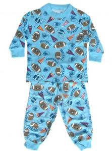Skivvydoodles Football Pajamas for boys