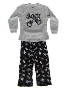 Wes and Willy Rock Pajamas for Boys
