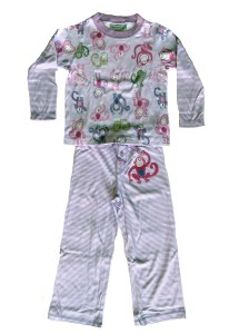 Skivvydoodles Monkeys Pajamas