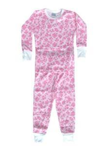 Baby Steps Provence Pink Pajamas