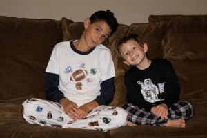 Wes and Willy Boys Pajamas
