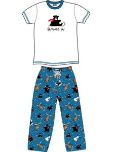 Lazyone Snowed In Adult Unisex Pajamas