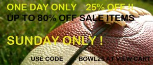 Superbowl Pajama Sale