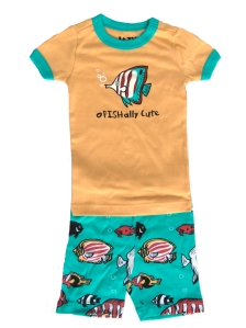 Lazy One oFISHally Cute Short Pajamas