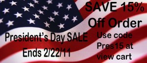 President's Day Pajama SALE