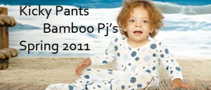 Kicky Pants Bamboo Spring Pj's