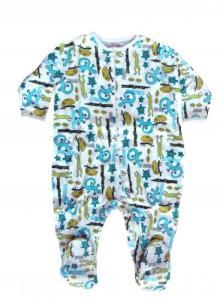 Skivvydoodles Reptiles Footie Pajamas