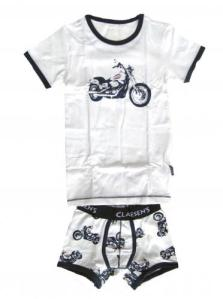Claesen's Bike Print Tee and Boxer Set for Boys