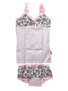 Claesen's Flower Print Cami and Boxer for Girls