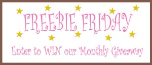 My Baby Pajamas Monthly Freebie Friday Giveaway
