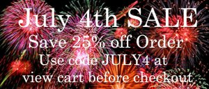 My Baby Pajamas Annual July 4th SALE