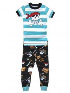 Boys Lazy One Pirate Pajamas