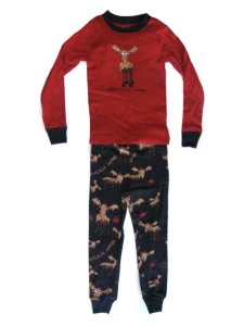 Lazy One Chocolate Moose Kid Pajamas $23.99