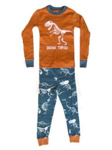 Lazy One Bone Tired Dinosaur Kid Pajamas