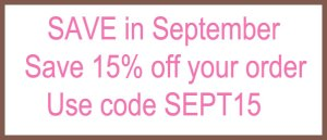 My Baby Pajamas September SALE