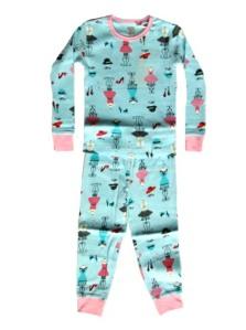 Petit Lem Mannequin Pajamas