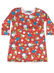 Skivvydoodles Jolly Snowmen Christmas Nightgown