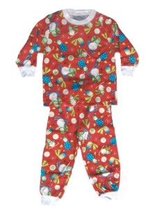Skivvydoodles Jolly Snowmen Christmas Pajamas for Boys and Girls