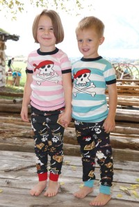 Lazy One Pirate Kids Pajamas