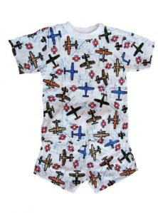 Skivvydoodles Flying Aces Short Pajamas for Boys