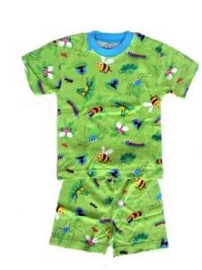 Sara's Prints Going Buggy Short Pajamas for Boys
