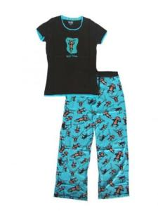 Lazy One Wild Thing Monkey Junior Pajamas