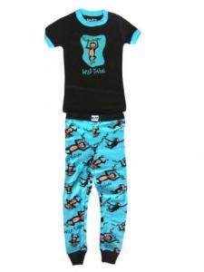 Lazy One Wild Thing Monkey Kid Pajamas