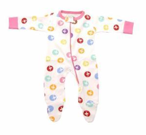 Sweet Peanut Prima Baby Footie Pajamas