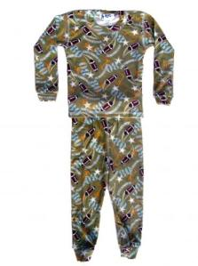 At Home Football Pajamas for Boys