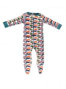 Sweet Peanut Working Machines Baby Footie Pajamas