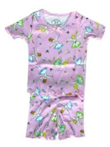 Sara's Prints Flower Fairies Short Pajamas for Girls