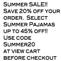 My Baby Pajamas Summer SALE