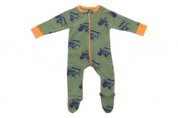 Sweet Peanut Moab Jeep Footie Pajamas