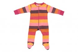 Sweet Peanut Dance on the Wind Organic Footed Pajamas