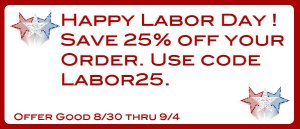 My Baby Pajamas Labor Day Sale
