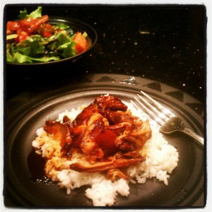 My Baby Pajamas Tuesday Cook Off - Crock Pot Teriyaki Chicken