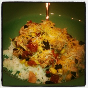 My Baby Pajamas Tuesday Cook Off Crock Pot Santa Fe Chicken