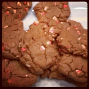 Chocolate Peppermint Chip CookiesChocolate Peppermint Chip Cookies