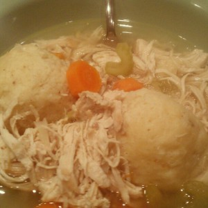 Nana's Chicken Matzo Ball Soup