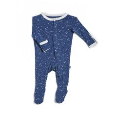 Kicky Pants Bamboo Twilight Starry Sky Footie Pajamas